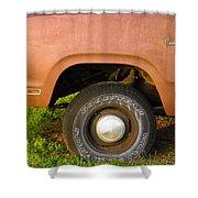 78 Dodge Power Wagon  Shower Curtain