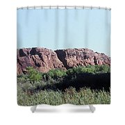 785 Sl  Red Rock Medow Shower Curtain