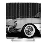 1957 Chevrolet Corvette Shower Curtain