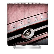 1965 Sunbeam Tiger Grille Emblem Shower Curtain