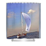 Fast Tago Shower Curtain