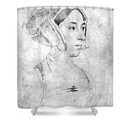 Anne Boleyn (1507-1536) Shower Curtain