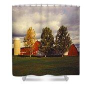 Barns Shower Curtain