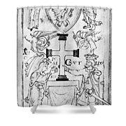 Canute I (c995-1035) Shower Curtain