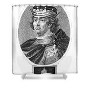 Edward I (1239-1307) Shower Curtain