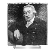 Edward Jenner (1749-1823) Shower Curtain
