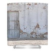 El Farafar Oasis Shower Curtain