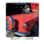 Ford Thunderbird Shower Curtain