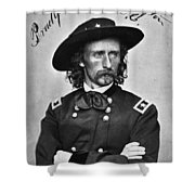 George Custer (1839-1876) Shower Curtain