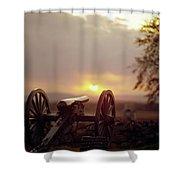 Gettysburg Military Park Shower Curtain