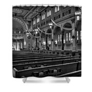 Holy Cross Catholic Church Shower Curtain