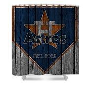 Houston Astros Shower Curtain