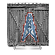 Houston Oilers Shower Curtain