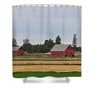 Idaho Falls Shower Curtain