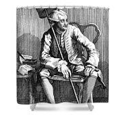 John Wilkes (1727-1797) Shower Curtain