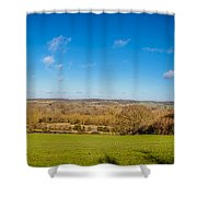 Kennet And Avon Canal Shower Curtain