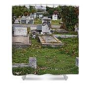 Key West Cemetery Shower Curtain