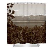 Lake Tahoe Shower Curtain