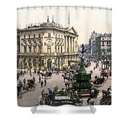 London Piccadilly Circus Shower Curtain