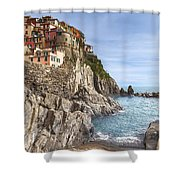 Manarola Shower Curtain