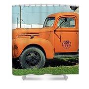 Route 66 - Mclean Texas Shower Curtain
