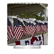 Ryckman House In Melbourne Beach Florida Shower Curtain