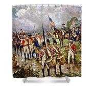 Saratoga: Surrender, 1777 Shower Curtain