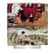 Sir Henry Unton (c1557-1596) Shower Curtain