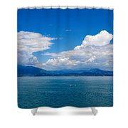 Sirmione. Lago Di Garda Shower Curtain