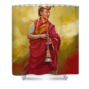South Asian Art  Shower Curtain