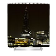 South Bank London Shower Curtain