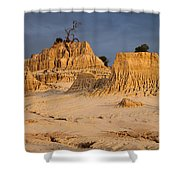 Sunset In An Ancient Land Shower Curtain