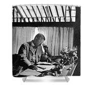 Theodore Roosevelt(1858-1919) Shower Curtain