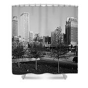 Tulsa Oklahoma Skyline Shower Curtain