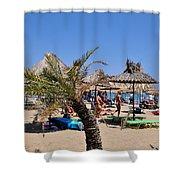 Vai Beach Shower Curtain
