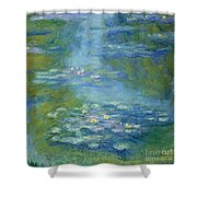 Waterlilies Shower Curtain