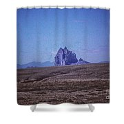 816 The Ship In The Desert  Shower Curtain
