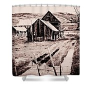 869 Se A Bit Of Country  4 Shower Curtain
