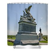 88th Penna Infantry 2277 Shower Curtain