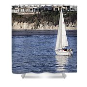 899 Pr Sailing Fun Shower Curtain