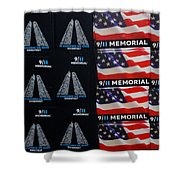 9/11 Memorial For Sale Shower Curtain