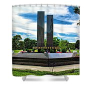 9/11 Memorial Freehold Nj Shower Curtain