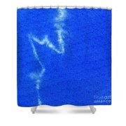 Abstract Batik Pattern Shower Curtain