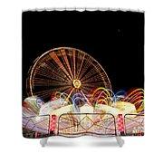 Amusement Park Shower Curtain