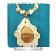 Aphrodite Antheia Necklace Shower Curtain