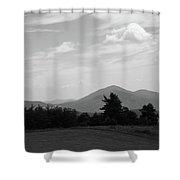 Blue Ridge Mountains - Virginia Bw 7 Shower Curtain