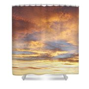 Bright Sky  Shower Curtain