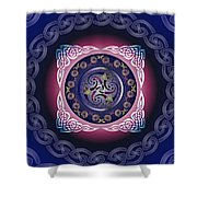 Celtic Pattern Shower Curtain