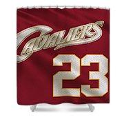 Cleveland Cavaliers Uniform Shower Curtain