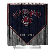 Cleveland Indians Shower Curtain